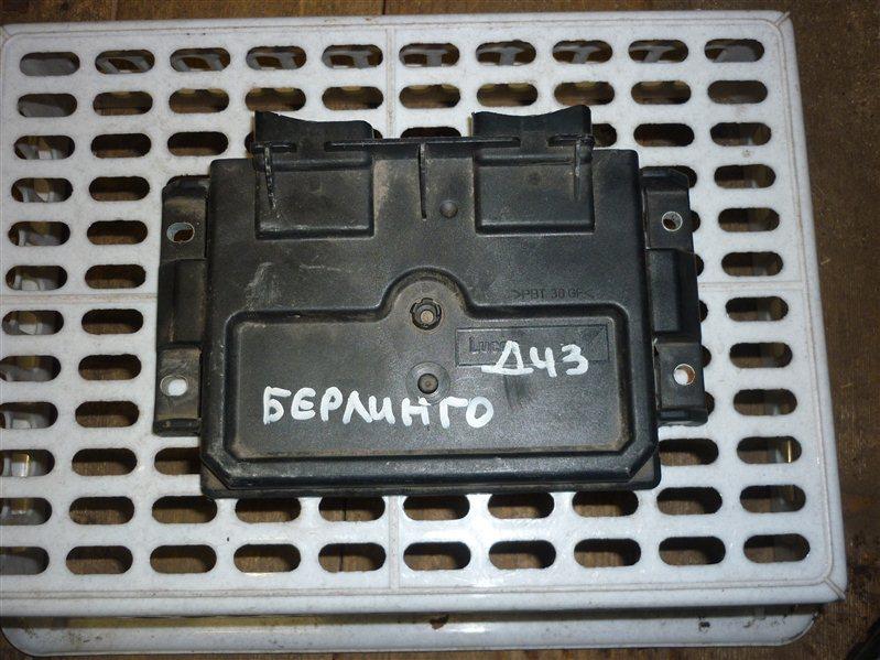 Блок управления двигателем Citroen Berlingo ФУРГОН 1.4 2006 (б/у)