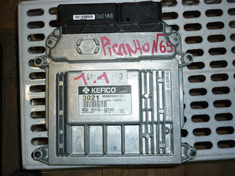 Блок управления двигателем Kia Picanto 1.1 2012 (б/у)