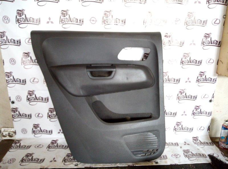 Обшивка двери Volkswagen Amarok 2011 задняя левая (б/у)