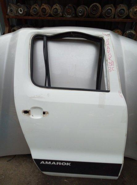 Дверь Volkswagen Amarok ПИКАП 2.0 МТ ДИЗЕЛЬ 2011 задняя правая (б/у)