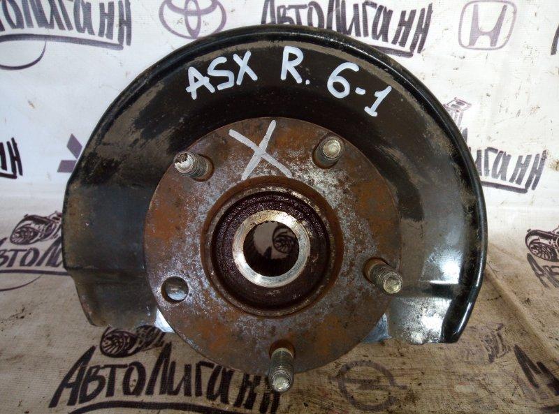 Кулак поворотный (цапфа) Mitsubishi Asx 1.8 2013 передний правый (б/у)
