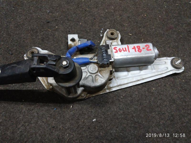 Мотор дворников Kia Soul задний (б/у)