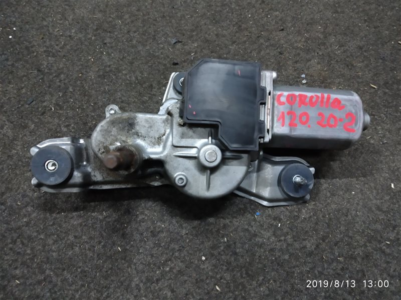 Мотор дворников Toyota Corolla 120 ХЕТЧБЭК задний (б/у)