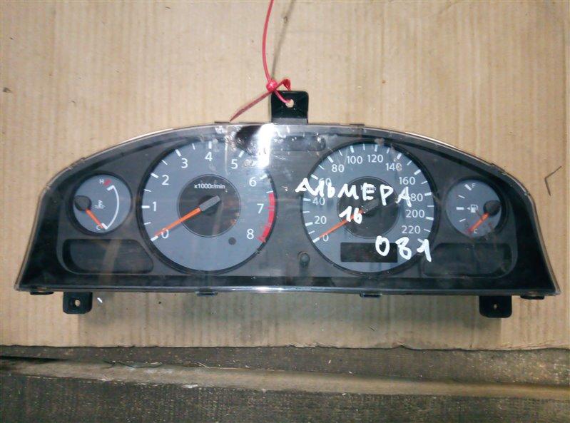 Щиток приборов Nissan Almera N16 (б/у)
