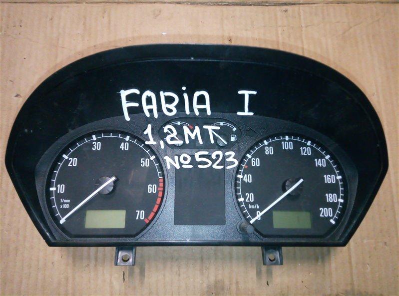 Щиток приборов Skoda Fabia 1 2002 (б/у)