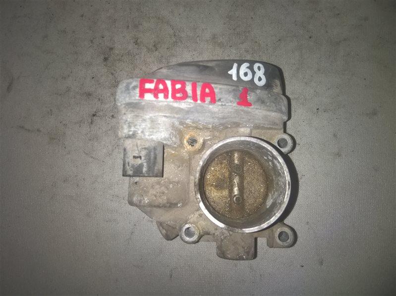 Дросельная заслонка Skoda Fabia 1 (б/у)
