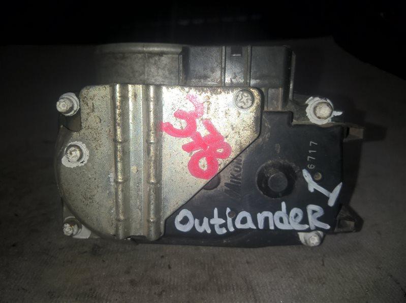 Дросельная заслонка Mitsubishi Outlander 1 2.4 (б/у)