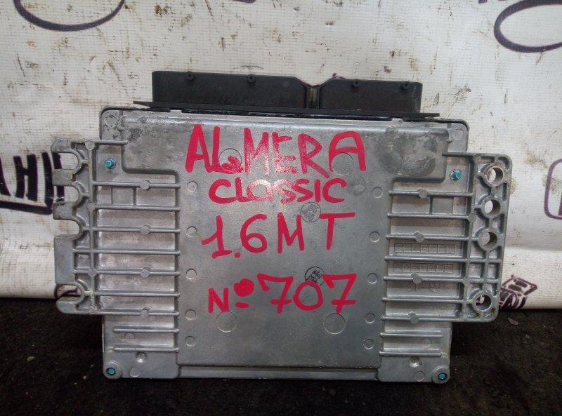 Блок управления двигателем Nissan Almera Classic СЕДАН 1.6 2008 (б/у)