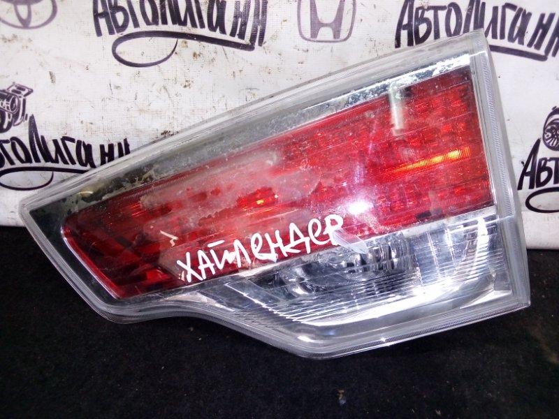 Фонарь Toyota Highlander задний правый (б/у)