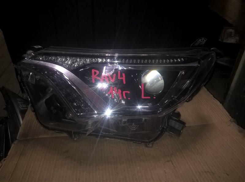 Фара Toyota Rav 4 2017 левая (б/у)