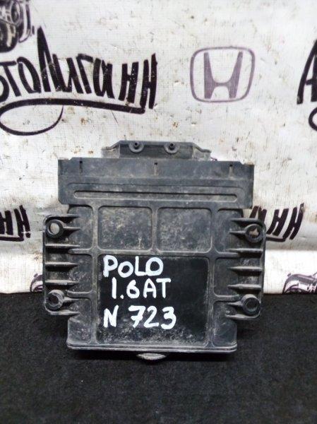Блок управления акпп Volkswagen Polo 1.6 2010 (б/у)