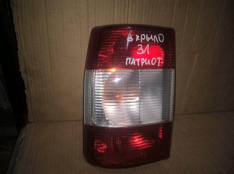 Фонарь Uaz Patriot 2007 левый (б/у)