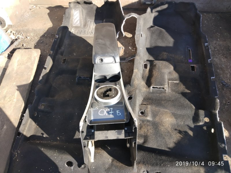 Центральная консоль Mazda Cx-7 2.3 ТУРБО (б/у)
