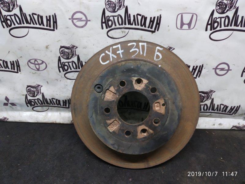 Тормозной диск Mazda Cx-7 2.3 АТ БЕНЗИН ТУРБО задний правый (б/у)