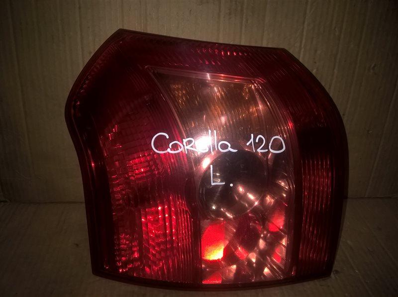 Фонарь Toyota Corolla 120 ХЭТЧБЕК 2005 левый (б/у)