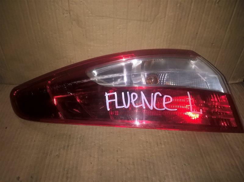 Фонарь Renault Fluence 2013 левый (б/у)