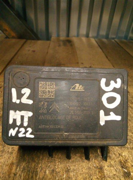 Блок abs Peugeot 301 1.2 2013 (б/у)