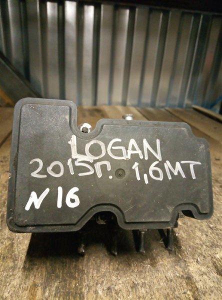 Блок abs Renault Logan 2 1.6 2015 (б/у)