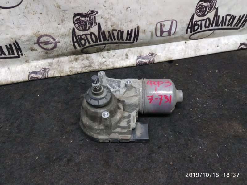 Мотор дворников Ford Focus 3 1.6 2012 передний левый (б/у)