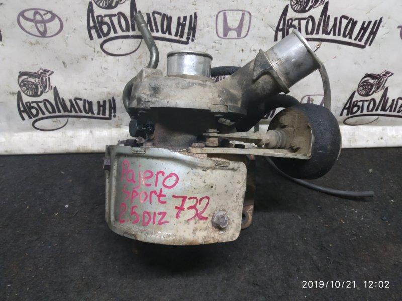 Турбина Mitsubishi Pajero Sport 2.5 2010 (б/у)