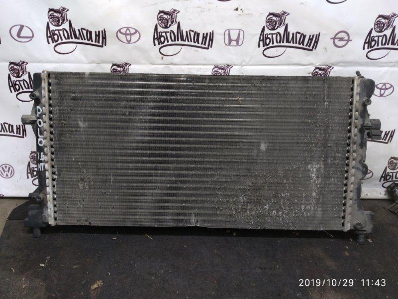 Радиатор охлаждения Volkswagen Polo 1.6 (б/у)