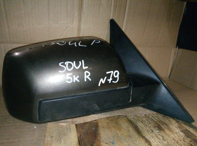 Зеркало Kia Soul правое (б/у)