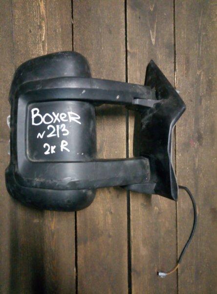 Зеркало Peugeot Boxer правое (б/у)