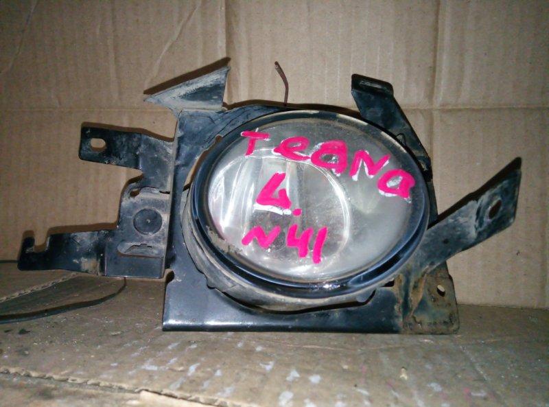 Фара противотуманная Nissan Teana левая (б/у)