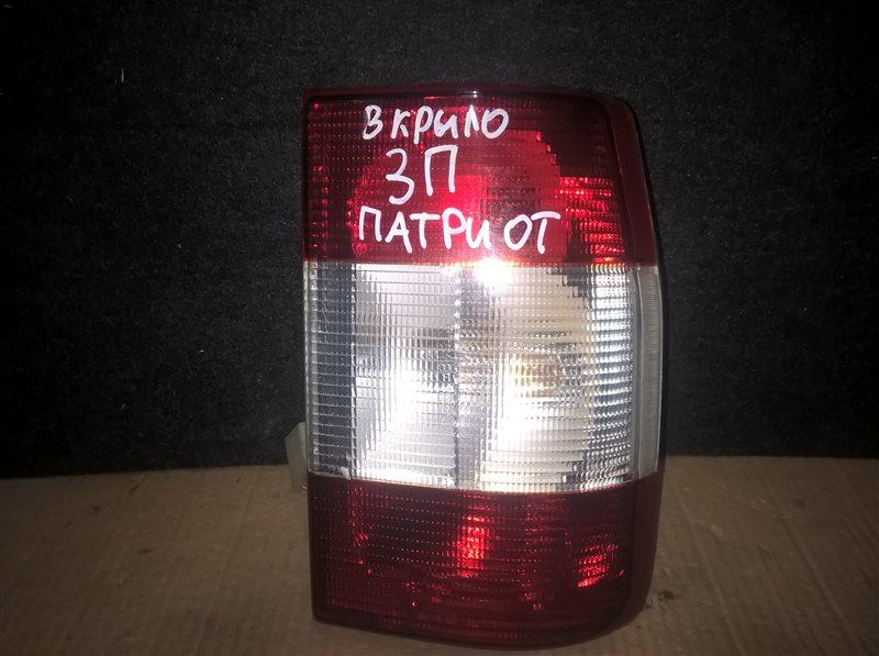 Фонарь Uaz Patriot 2007 правый (б/у)