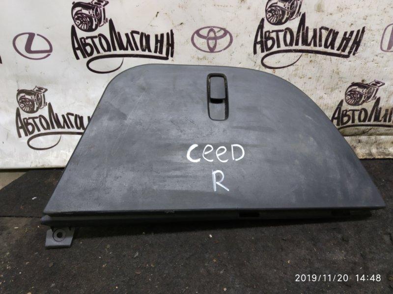 Лоток багажного отсека Kia Ceed G4FC 2011 задний правый (б/у)
