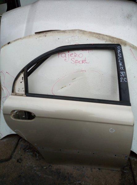 Дверь Kia Spectra S6D 2008 задняя правая (б/у)