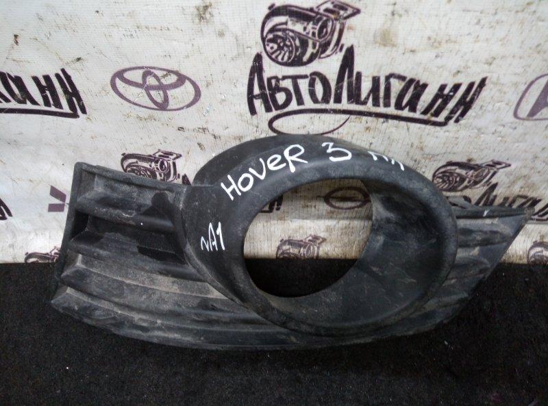 Накладка противотуманной фары Great Wall Hover H3 передняя левая (б/у)