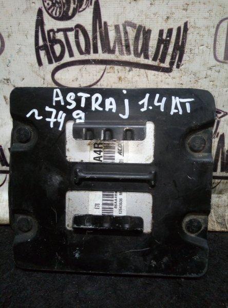 Блок управления двигателем Opel Astra J ХЭТЧБЕК A14NET 2012 (б/у)