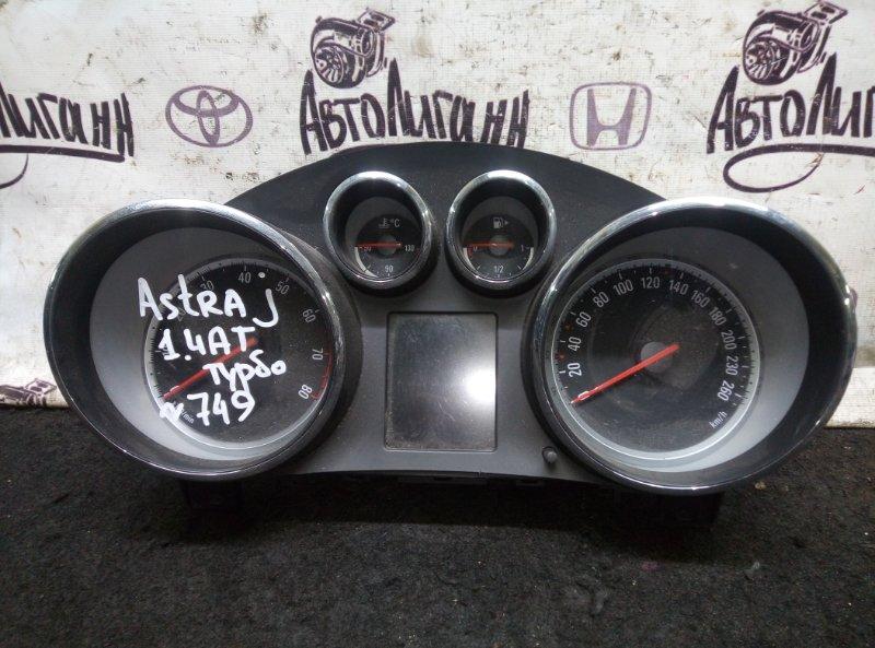Щиток приборов Opel Astra J ХЭТЧБЕК A14NET 2012 (б/у)