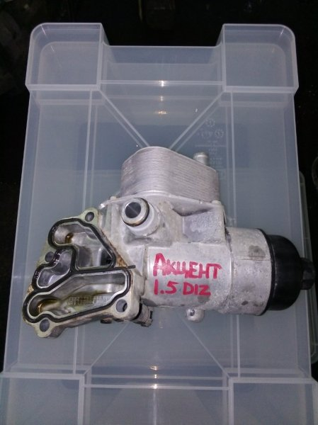 Масляный охладитель Kia Cerato 1 D4FA 2007 (б/у)