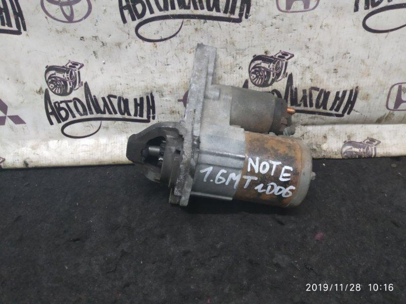 Стартер Nissan Note HR16 2009 (б/у)