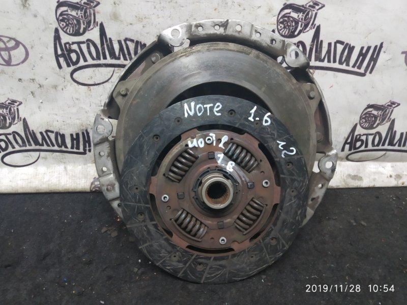 Сцепление (комплект) Nissan Note HR16 2009 (б/у)