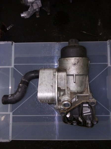 Масляный охладитель Kia Ceed D4FB 2010 (б/у)
