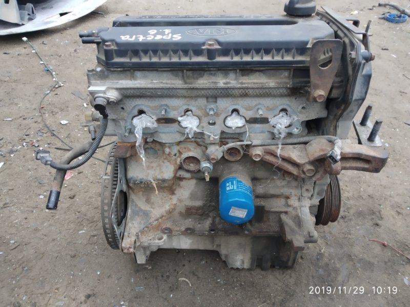 Двигатель Kia Spectra S6D 2008 (б/у)
