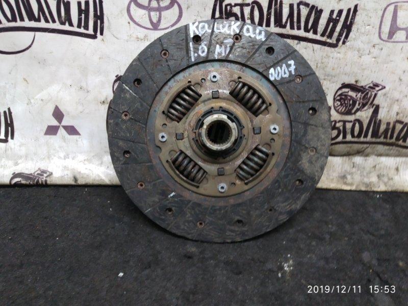 Диск сцепления Nissan Qashqai 1.6 2009 (б/у)
