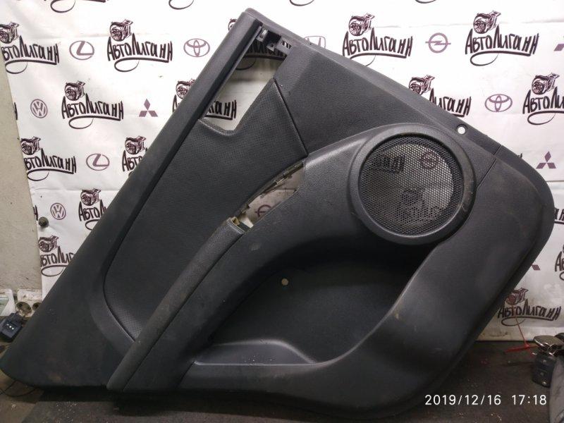 Обшивка двери Kia Sportage D4EA 2006 задняя левая (б/у)