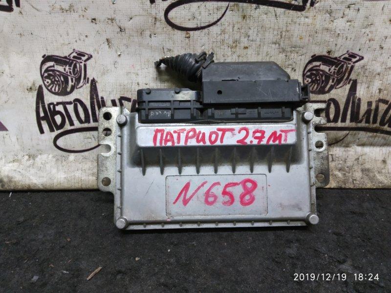 Блок управления двигателем Uaz Patriot 2.7 МТ (б/у)