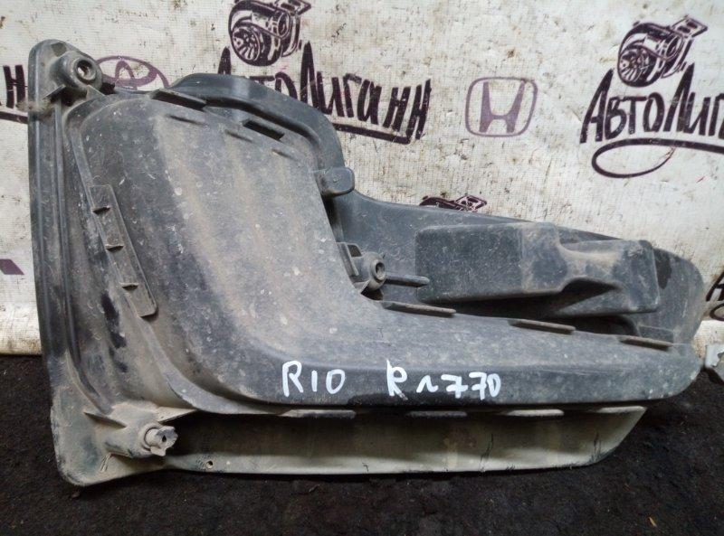 Накладка противотуманной фары Kia Rio правая (б/у)