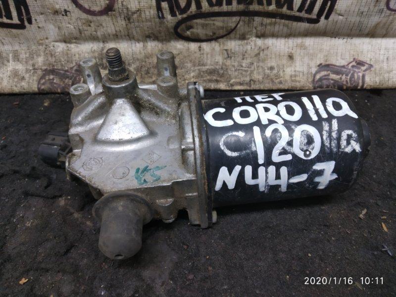 Мотор дворников Toyota Corolla 120 передний (б/у)
