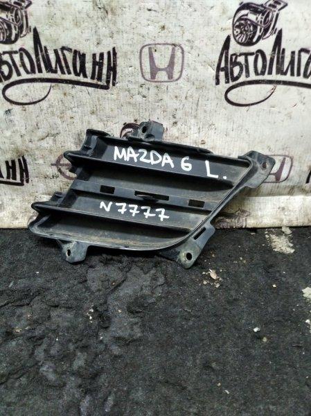 Накладка противотуманной фары Mazda 6 Gh передняя левая (б/у)