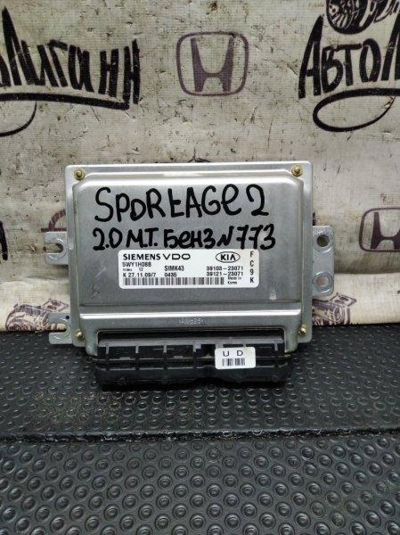 Блок управления двигателем Kia Sportage G4GC 2010 (б/у)