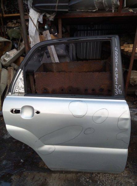 Дверь Kia Sportage G4GC 2010 задняя правая (б/у)