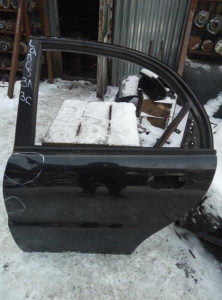 Дверь Chevrolet Lanos A15SMS 2009 задняя левая (б/у)