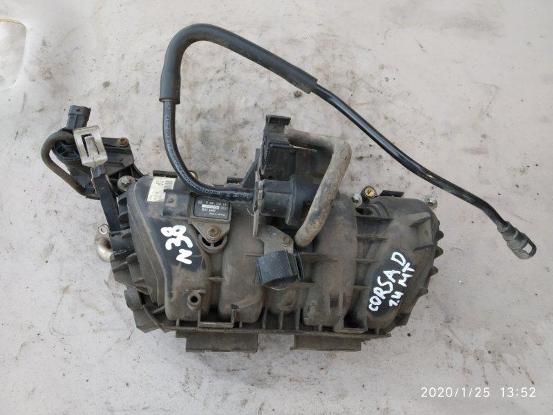 Коллектор впускной Opel Corsa D 1.4 (б/у)