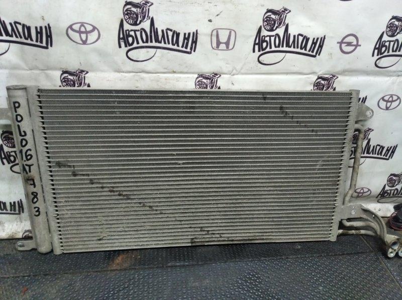 Радиатор кондиционера Volkswagen Polo СЕДАН BTS 2010 (б/у)